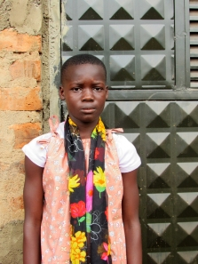 Christine Born: February 11th, 2005 Christine was born in Bugerere district and her parents died when she was 2yrs old.