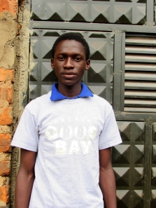 Edwine Born: March 29th, 2000 Edwine was born in Jinja district in Budondo village the father was imprisoned and died from there when nobody could help the family.
