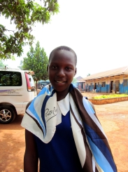 Gift Joy Born: May 3rd, 2004 Gift was born in Palisa district and her father died so she found herself in the Hands of Christ.