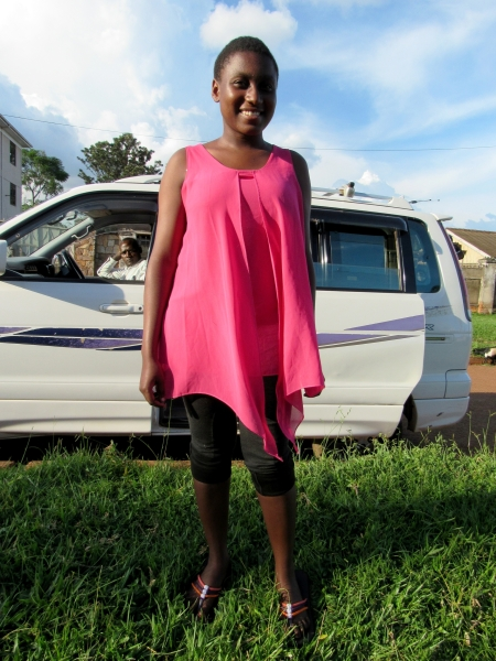 Leila Born: August 22nd, 2000 Leila was born in Kaliro district and her father died of HIV AIDS. Her mother also has HIV AIDS. Leila wants to become a journalist.