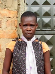 Priscillar Born: May 24th, 2003 Priscillar was born in Mayuge district. Both of her parents died of HIV AIDS and she was left without some to look after her.