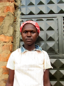 Prossy Born: August 14th, 2002 Prossy was born in Kibuku district. When her parents both died she was left in the hands of empathizers who later left her to fend for herself.
