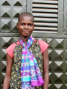 Rukia Born: December 11th, 2001 Rukia was born in Jinja district and both of her parents died of HIV AIDS.